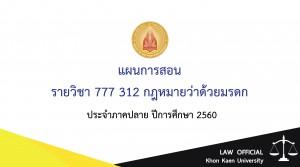 แผนการสอนกฎหมายมรดก-01