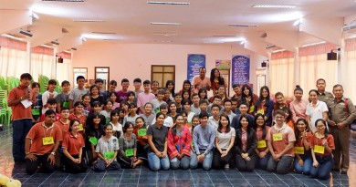 นักศึกษานิติศาสตร์ ลงพื้นที่จัดกิจกรรมโครงการศึกษาปัญหาชุมชน (สักทองอาสาวิชาการ) ปีการศึกษา 2561