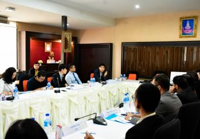 การประชุมเชิงปฏิบัติการเพื่อขับเคลื่อนการทำงาน ภายใต้บันทึกความร่วมมือทางวิชาการ